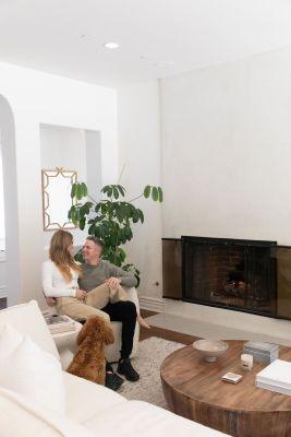 Lauren Scruggs-Kennedy propane fireplace